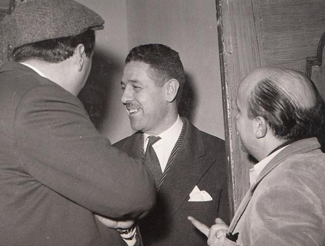 Luis García Berlanga y Ricardo Muñoz Suay. Colección García Berlanga.