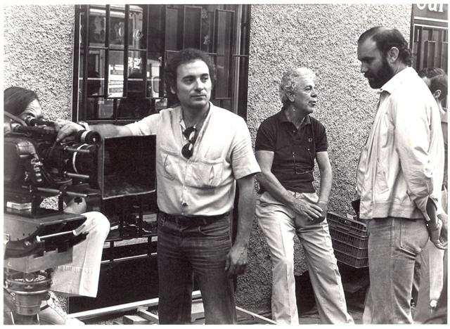 Miguel Ángel Muñoz,Luis García Berlanga y Carlos Suárez. Academia de las Artes y las Ciencias Cinematográficas.